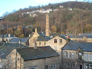 Hebden Bridge - Image: Hebden Bridge Rooftops