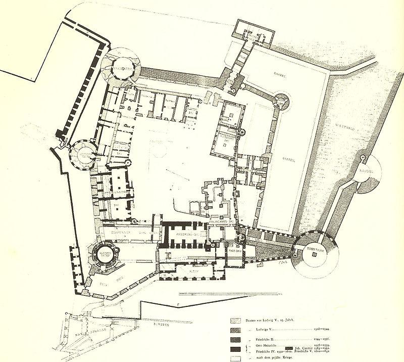 Heidelberger Schloss von Koch u Seitz 1891.jpg