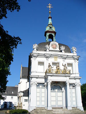 Pilgrimage church - The Calvary Church in Bonn with its holy stairway