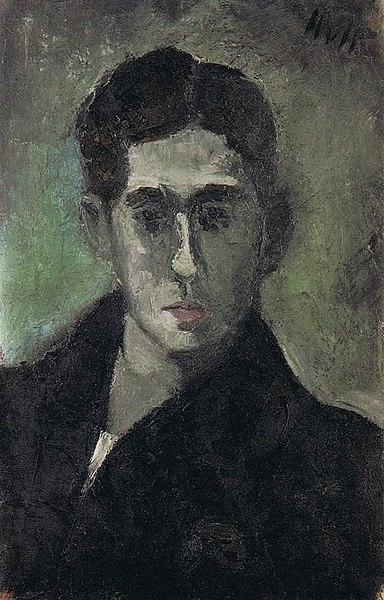 Wilhelm Uhde le découvreur (1874-1947) 384px-Helmut_Kolle_-_Self_Portrait%2C_1923