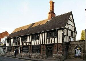 Henley-in-Arden - The Guild Hall of Henley-in-Arden