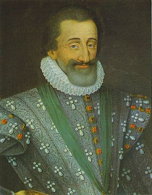 Royal eponyms in Canada - Image: Henri IV