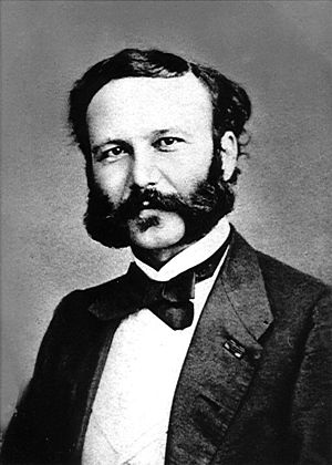 Henry Dunant - Image: Henry Dunant young
