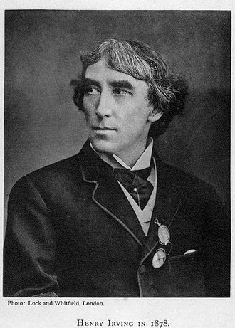 Arthur Wing Pinero - Henry Irving: Pinero was a member of his company from 1876 to 1881