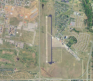 Henry Post Army Airfield airport in Oklahoma, United States of America
