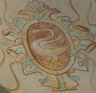 Łabędź coat of arms - Image: Herb Labedz, (Dunin) Baranow Sandomierski
