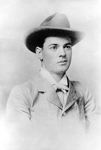 Herbert Hoover - Herbert Hoover, aged 23; taken in Perth, Western Australia, in 1898