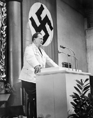 Research Office of the Reich Air Ministry - Göring addressing the Reichstag