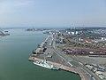 High-angle view of the Port of Akita 20180422.jpg