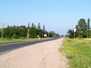 Ontario Highway 90 - Highway 90 approaching Barrie from the west