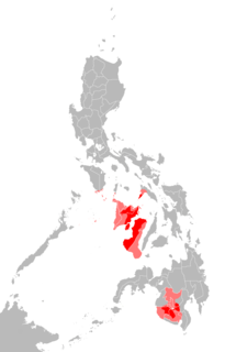 Austronesian language spoken in the Western Visayas region of the Philippines