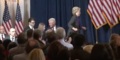 Hillary walking on stage to deliver her concession speech 07.png
