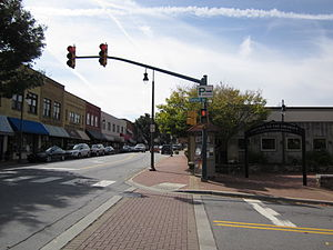 Waynesville Main Street Historic District (Waynesville, North Carolina) - Historic Main Street Waynesville, September 2012