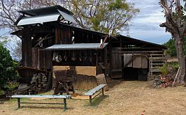 Historic coffee mill, Kona Coffee Living History Farm.jpg