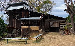 Kona Coffee Living History Farm - Historic coffee mill