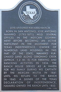 Photo of Jose Antonio Navarro black plaque