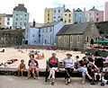 Holiday Time - Tenby - geograph.org.uk - 269959.jpg