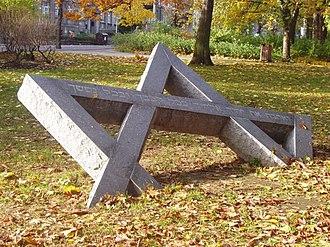 Ústí nad Labem - Image: Holocaust memorial usti nad labem