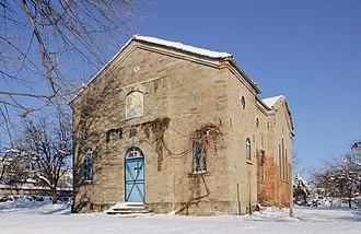 Antonovo - The Holy Trinity Church in Antonovo