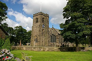 Holy Trinity Church, Hoghton Church in Lancashire, England