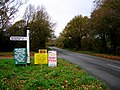 Homemade Signs, Michelham Priory Road - geograph.org.uk - 614402.jpg