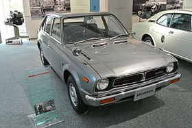 Honda CIVIC in the Honda Collection Hall.JPG