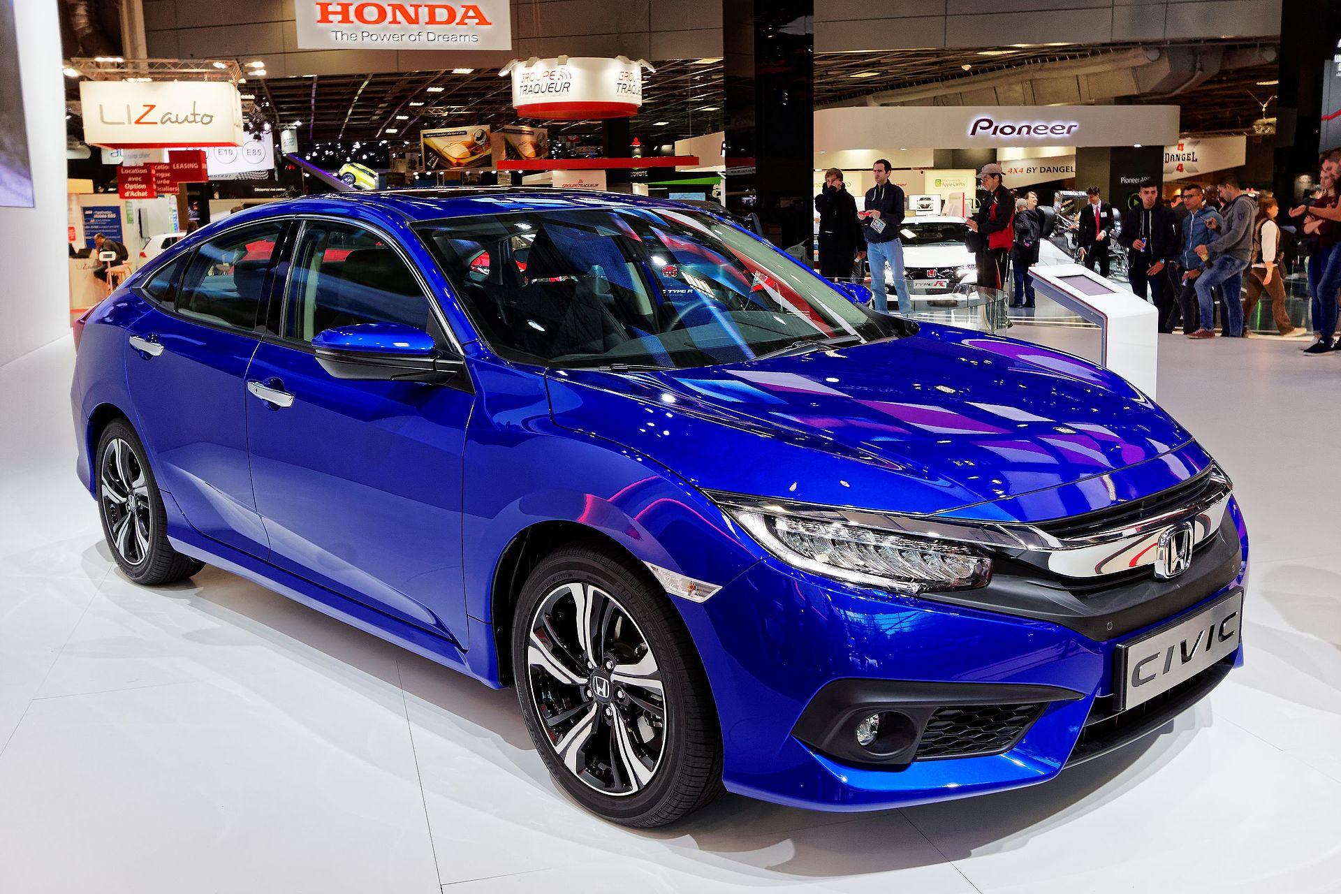 Honda Civic - Mondial de l'Automobile de Paris 2016 - 001.jpg