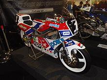 La Honda RS125R, con la quale Capirossi vinse il titolo mondiale nel 1991