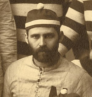"Chicago–Michigan football rivalry - Michigan's Horace Greely Prettyman was ejected for ""slugging"" in the 1888 and 1889 games at Chicago."