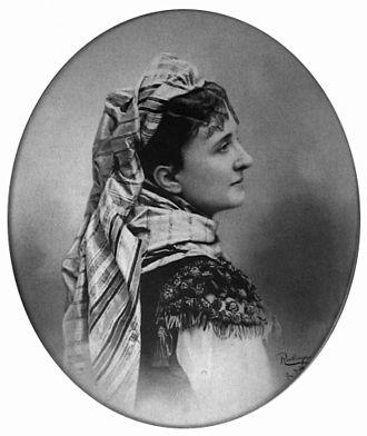 La Périchole - Hortense Schneider as La Périchole (1868) by Reutlinger