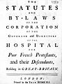 Hospital for Poor French protestants, title page. Wellcome L0000350.jpg