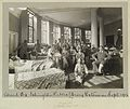 Hospital ward, World War I, Islington Public Library, London Wellcome L0035983.jpg