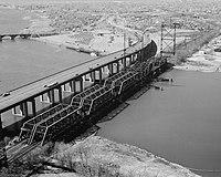 Housatonic River Bridge, Stratford, -Fairfield County, Connecticut).jpg
