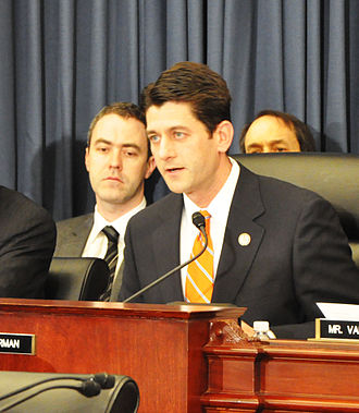 United States House Committee on the Budget - Paul Ryan (R) Chairing a meeting of the Committee on the Budget.