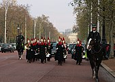 Household Cavalry on The Mall, London.jpg