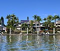Houses in Sanctuary Cove seen from Coomera River, Queensland 03.jpg