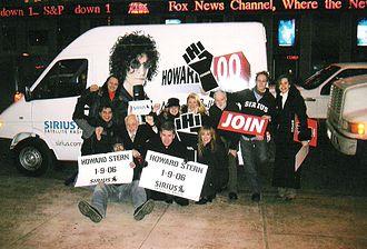 Howard 100 News - Most of the original Howard 100 News crew.