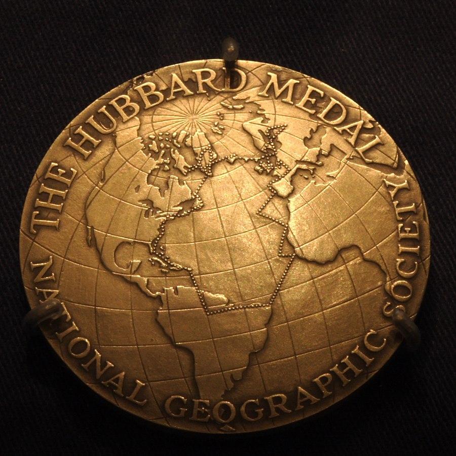 Hubbard Gold Medal, Anne Morrow Lindbergh