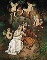 Huber, Carl Rudolf - Titania in ihrer wunderbaren Täuschung begriffen - 19th century.jpg