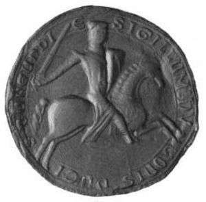 Hugh, Count of Burgundy - Seal of Hugh III of Burgundy