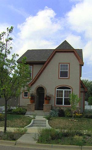 Lind-Bohanon, Minneapolis - Image: Humboldt Greenway Sample House