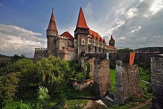 Corvin Castle 15th-century castle in Romania