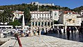Hvar Town - Fortress and Town main square.jpg