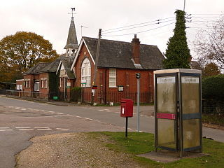 Hyde, Hampshire village and civil parish in New Forest, Hampshire, England