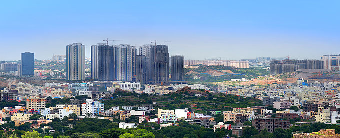 Hyderabad Financial district,India