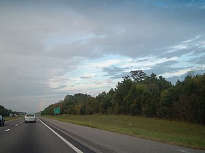 Interstate 59 - A stretch of I-59 in Mississippi