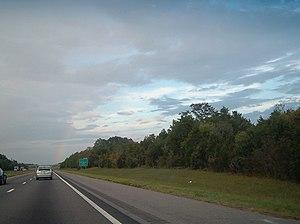 Interstate 59 - A stretch of I-59 in Mississippi