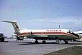 I-TIDE Fokker F.28-1000 Itavia LGW 04MAY70 (6877653613).jpg
