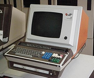 ICL 2900 Series - An ICL 7561 terminal, used as an operator console