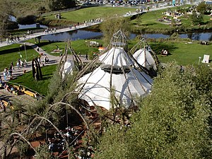 2003 World Horticultural Exposition - Willow church